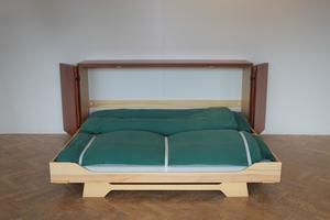 fold ud seng Thysen Nielsen ApS ::: Den skjulte seng fold ud seng